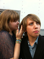 Ryan and some girl smelling his hair xD - ryan-lee photo