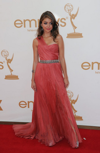 Sarah @ the 2011 Emmys