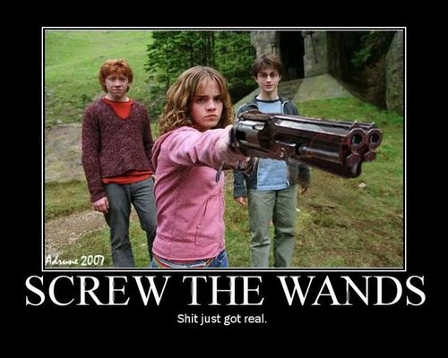 Screw The Wands
