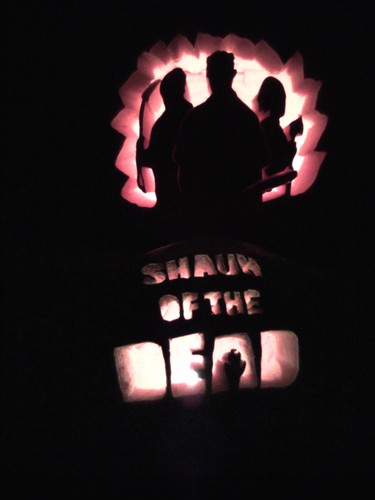 Shaun of the Dead calabaza