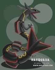Shiny Rayquaza