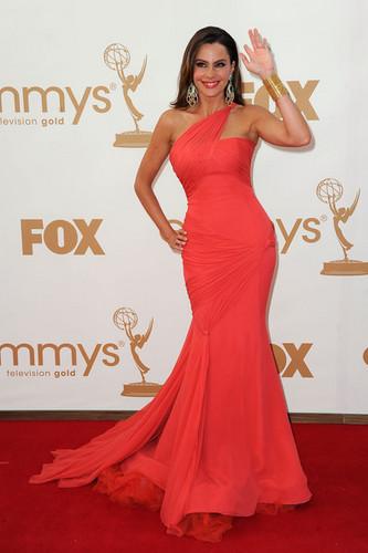 Sofia @ the 2011 Emmys