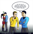Spock and Uhura - spock-and-uhura fan art