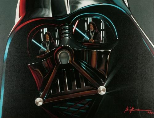 Star Wars painting