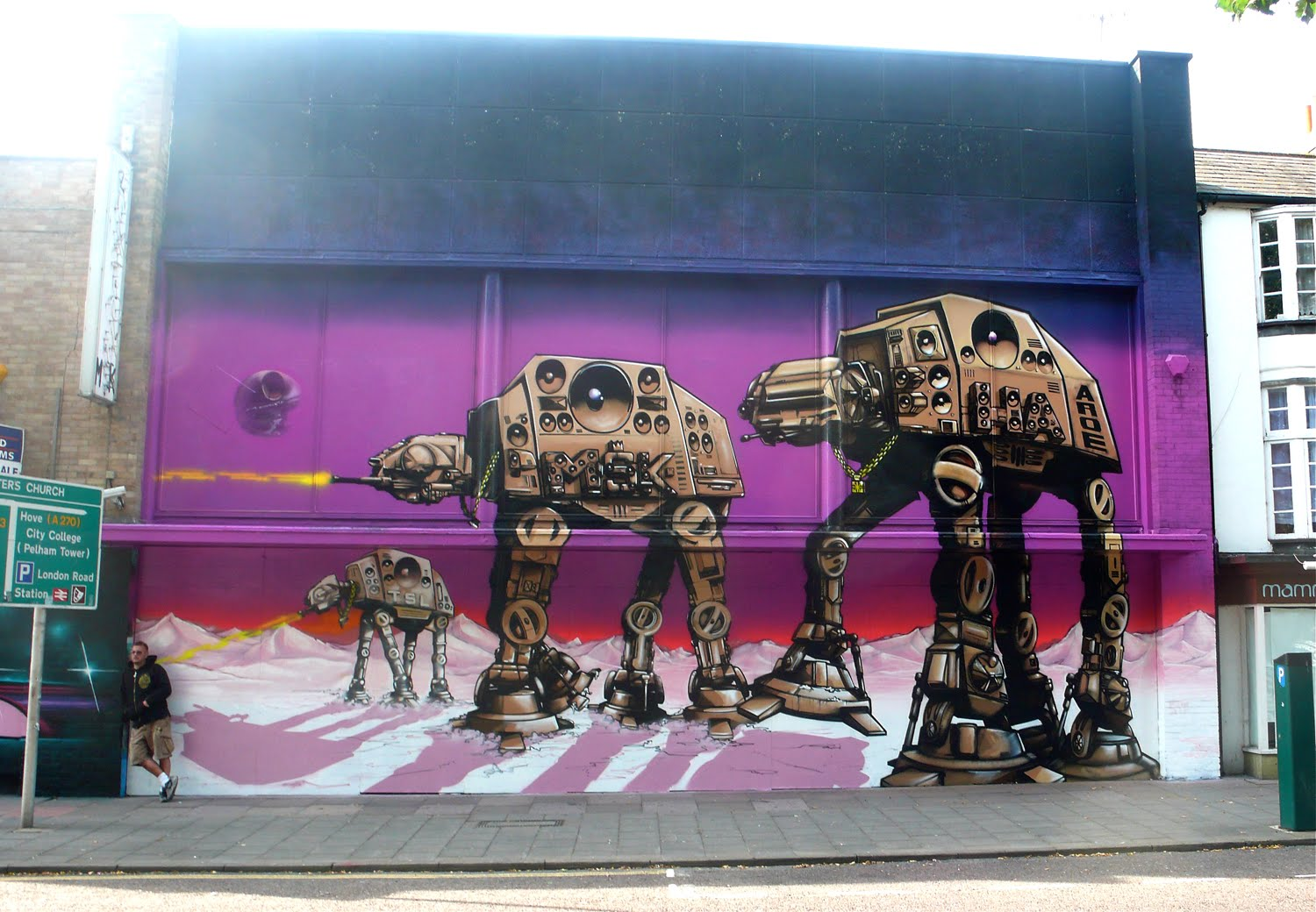 Star wars star wars awesome graffiti
