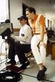 Steven Spielberg & Leonardo DiCaprio - catch-me-if-you-can photo