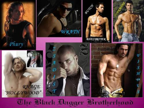 The Black Dagger Brotherhood wallpaper titled The Black Dagger Brotherhood