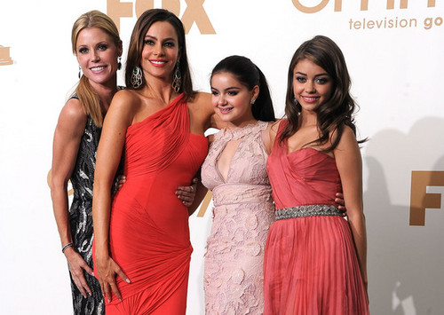 The Cast @ the 2011 Emmys