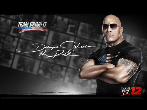 The Rock | WWE '12 - wwe Wallpaper
