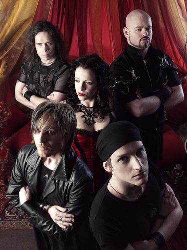 The promotional foto-foto of the album Salomé – the seventh veil