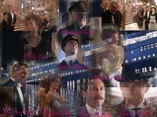 Titanic passengers.