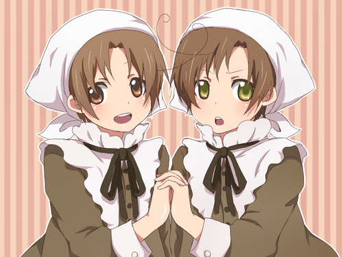 Hetalia Italy karatasi la kupamba ukuta called Too cute for words~