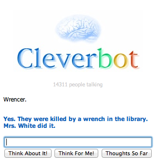 WTF Cleverbot, Seriously?