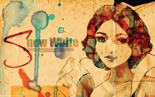 Watery Snow White