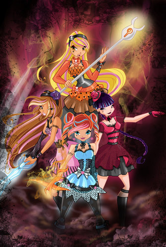 Winx Hallowinx fan art