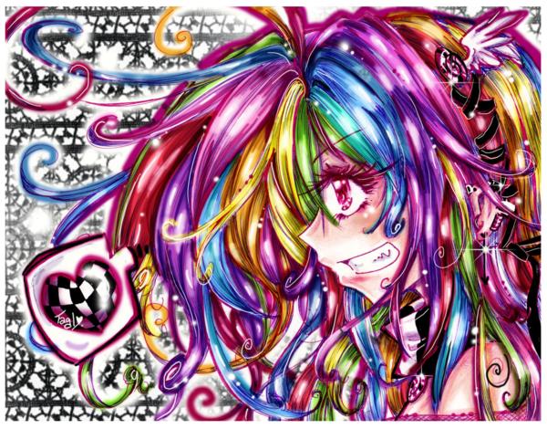 anime rainbow
