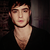 Ed Westwick photo with a portrait titled edwestwick'