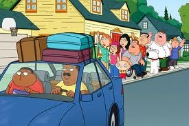 family guy, cleveland 显示