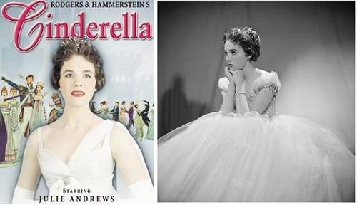 julie andrews as cinderela