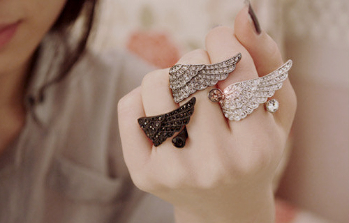kfashion (jewel angel wings) - kfashion Photo
