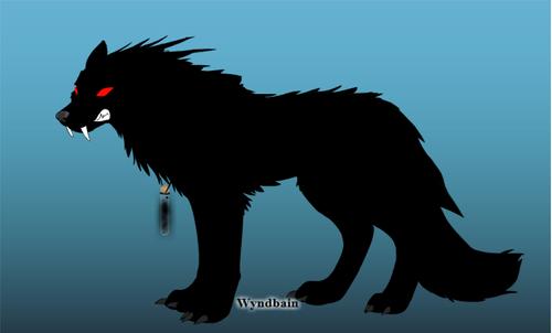 me as a 狼
