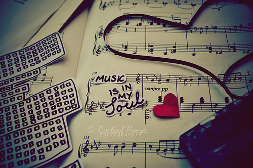 Muzik is my soul.