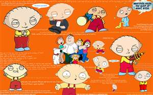 stewie griffin wallpaper containing anime entitled stewie