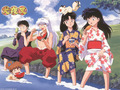 the InuYasha gang