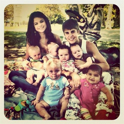 the bieber-gomez family
