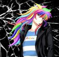 wild rainbow bakura - ryou-bakura photo