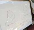 rare photos of michael jackson's drawings - michael-jackson photo