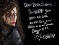 A Note From Bellatrix