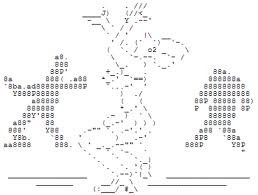 ASCII ART DANCE