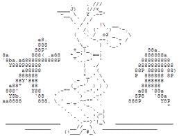 ASCII ART DANCE