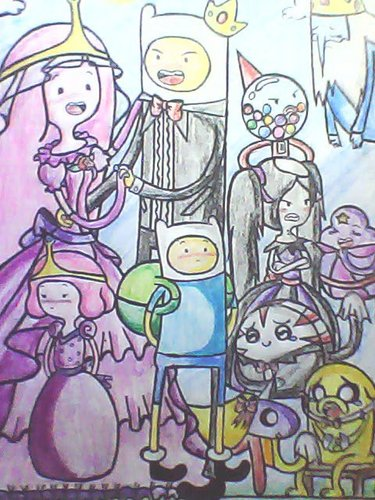 Adventure Time Wedding