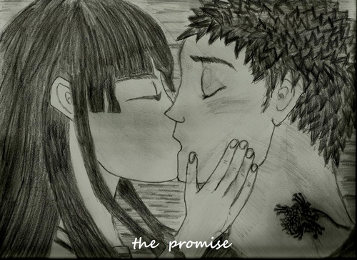 The Promise (Ai kisses Jemuzu) - the-random-anime-rp-forums Screencap