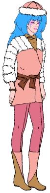 Aja Furry Winter Wear