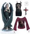 Angel – Jäger der Finsternis Rose Sculpture & Shirts