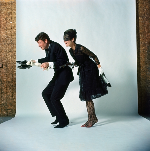 How to Steal a Million wallpaper containing a well dressed person entitled Audrey Hepburn & Peter O'Toole