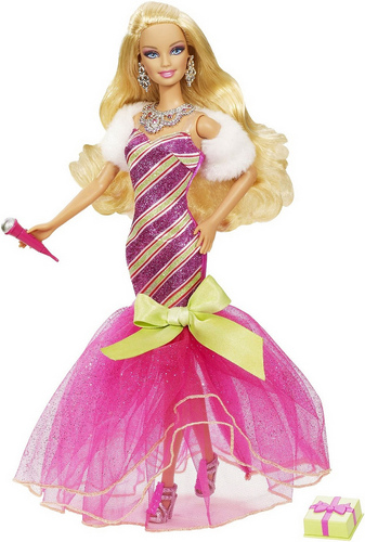 Barbie Perfect Christmas doll's