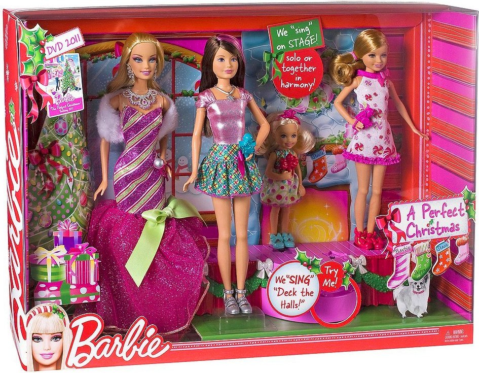 Barbie Perfect Krismas doll's