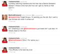 Barbra Streisand tweets Lea!