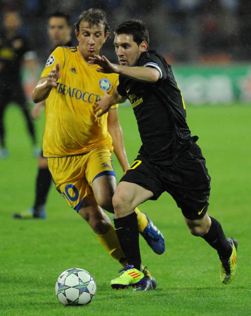 Bate Borisov vs FC Barcelona Champions League round one [0-5] - fc ...