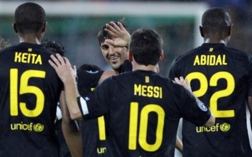 Bate Borisov vs FC Barcelona Champions League round one [0-5]