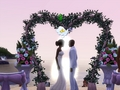 the-sims-3 - Beautiful Wedding  wallpaper