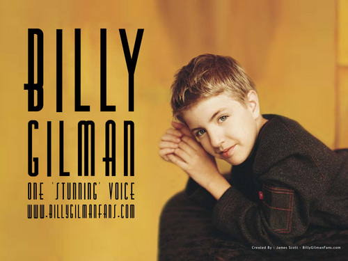 Billy Gilman wallpaper probably with a sign and a portrait titled Billy Gilman
