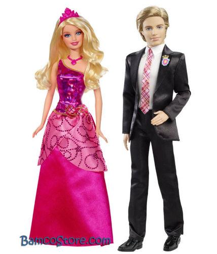 Blair and Nicholas as a doll