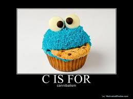 Cannibalism - cookie-monster Photo