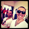 Chester and Dave - chester-bennington photo