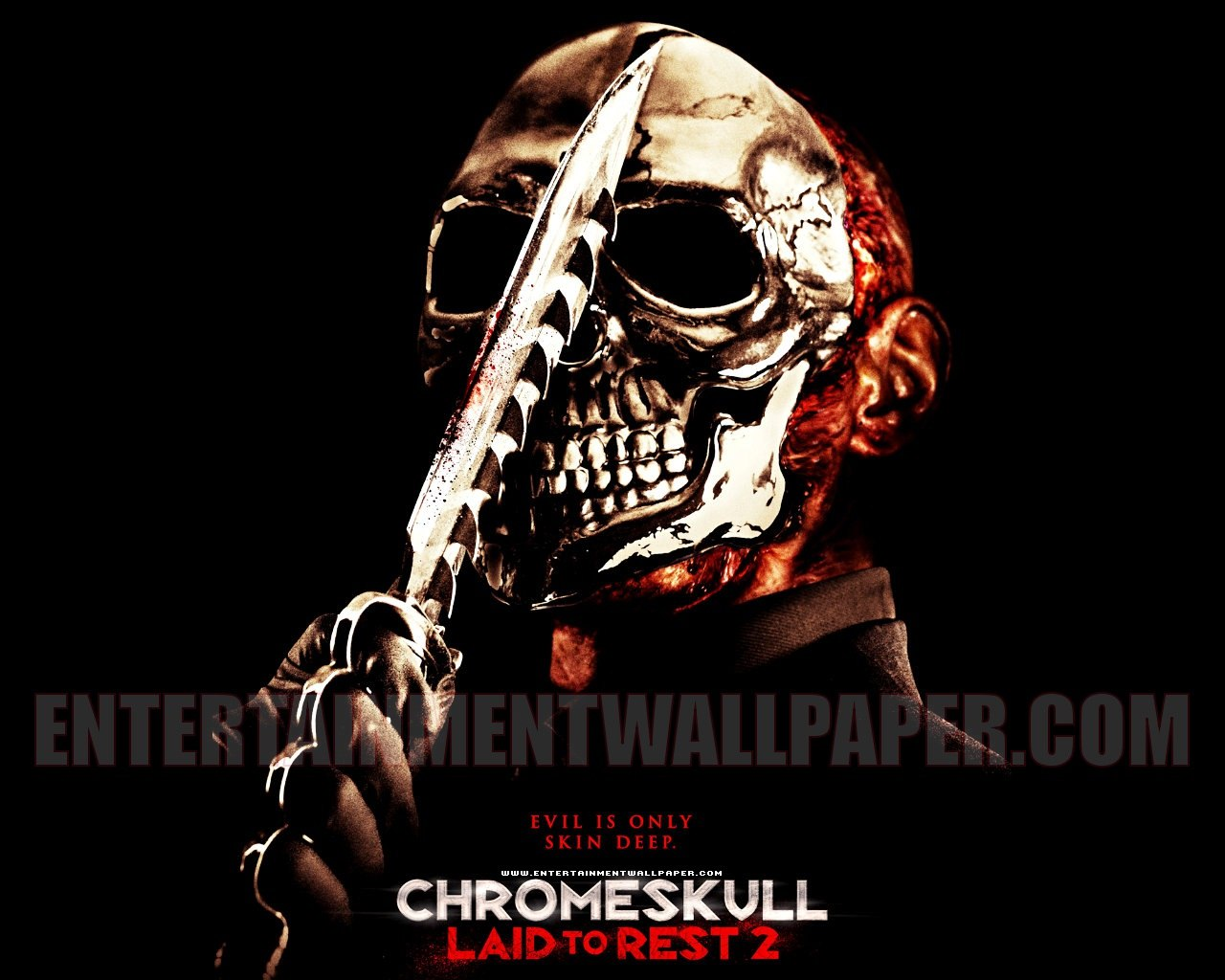 Horror movies chrome skull laid to rest 2